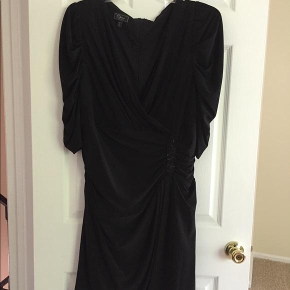 Dress Barn Dresses & Skirts - Women's Black Cocktail Dress